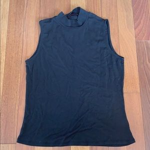 Athleta High Neck Black Tank